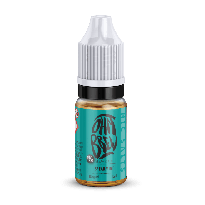 SPEARMINT NIC SALT BY OHM BREW - I Love Vapour nic salts I Love Vapour