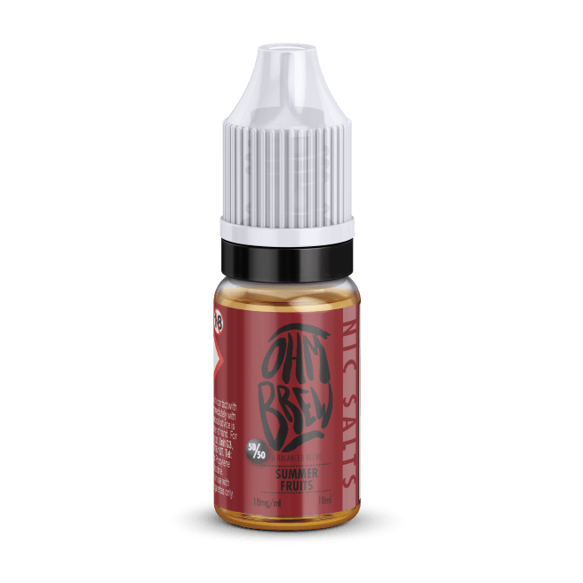 SUMMER FRUITS NIC SALT BY OHM BREW - I Love Vapour nic salts I Love Vapour