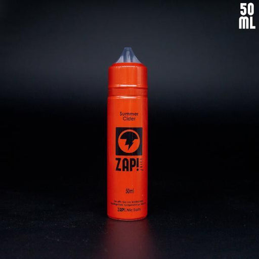 ZAP! Juice Summer Cider - E-Liquid 50ml Short Fill - I Love Vapour E-Juice zap juice