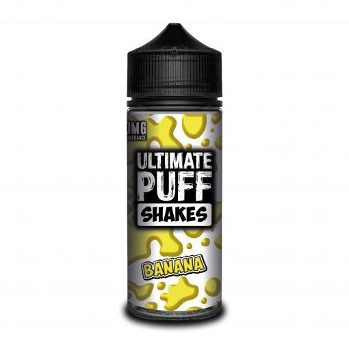 Ultimate Puff Shakes – Banana 120ML Shortfill - I Love Vapour E-Juice Ultimate Puff