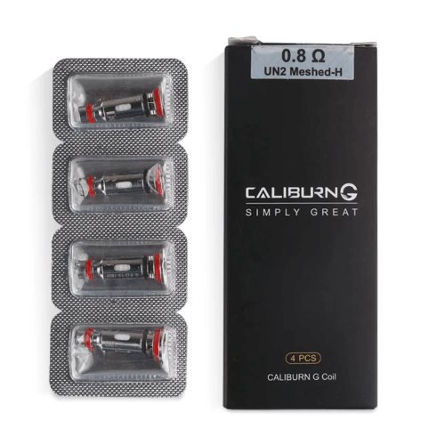 UWELL CALIBURN G REPLACEMENT 0.8 Ohm COILS - I Love Vapour  I Love Vapour