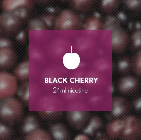 Black Cherry E-Juice - I Love Vapour E-Juice I Love Vapour