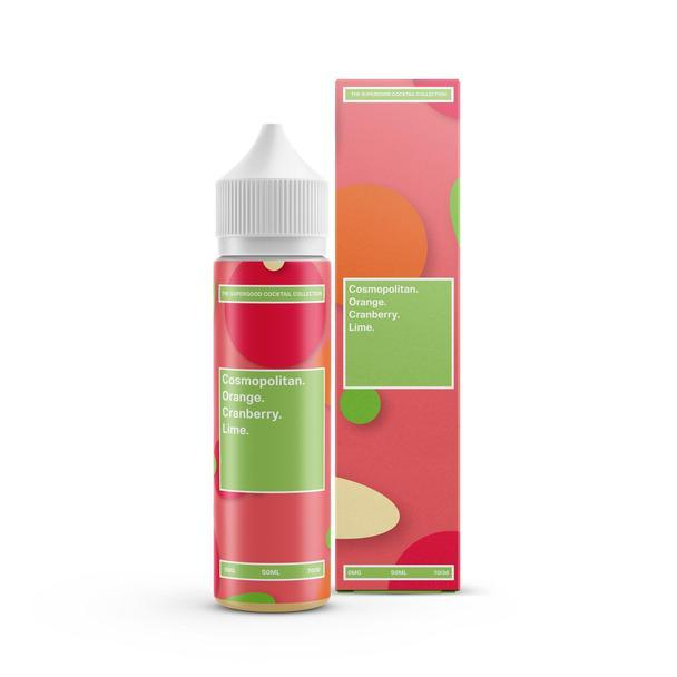 SUPERGOOD E-LIQUID Cosmopolitan 50ml SHORTFILL FREE NIC SHOT INC - I Love Vapour E-Juice SUPERGOOD
