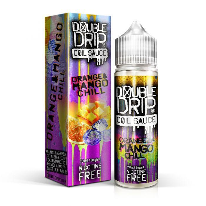 Double Drip Orange & Mango Chill E-Liquid 50ml Short Fill - I Love Vapour