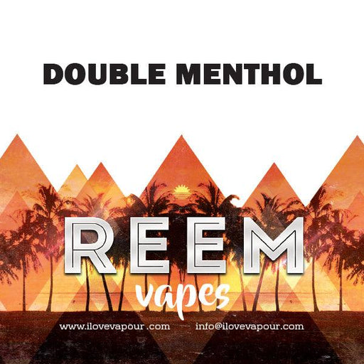 Double Menthol Premium E juice By Reem Vapes - I Love Vapour E-Juice reem