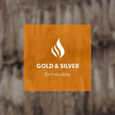 Gold and Silver E-Juice - I Love Vapour