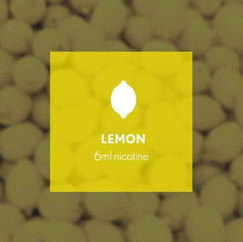 Lemon E-Juice - I Love Vapour E-Juice I Love Vapour