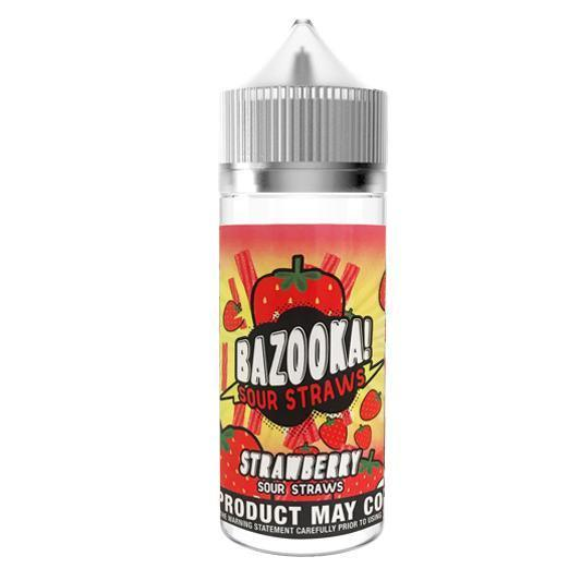 Bazooka - Sour Strawberry 100ml short fill - I Love Vapour