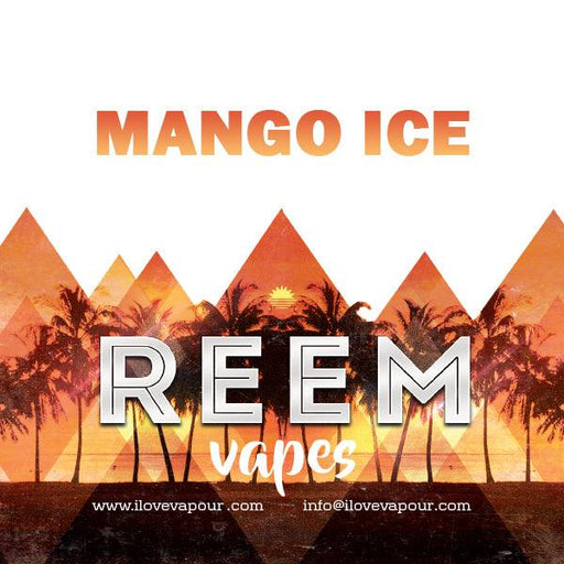 MANGO ICE Premium E juice By Reem Vapes - I Love Vapour E-Juice reem