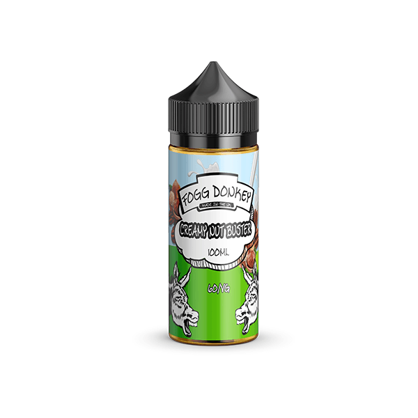 Creamy Nut Buster by fogg donkey 100ml - I Love Vapour