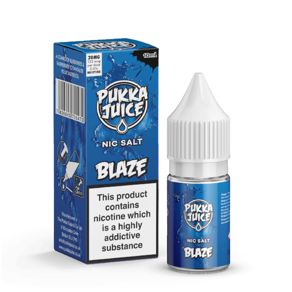 Blaze Nic Salt by Pukka Juice - I Love Vapour