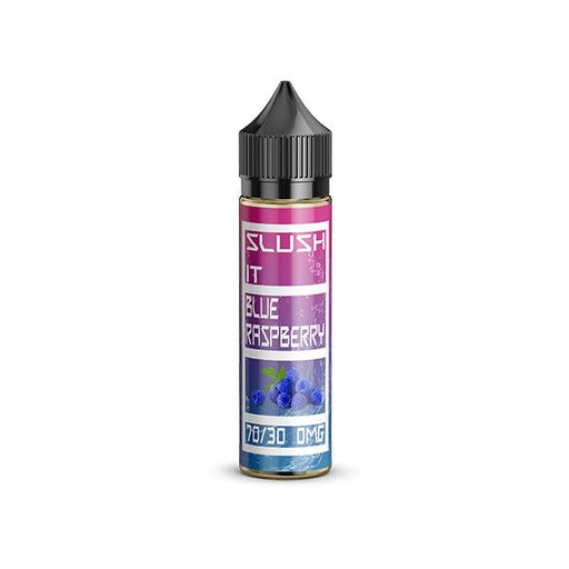Slush It Blue Raspberry Slush 50ml E-Juice (Free Nic Shot included) - I Love Vapour