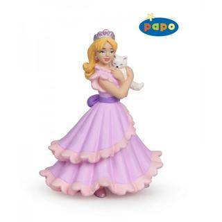 Figurine Princesse au chat