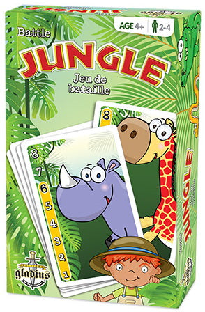 Jungle jeu de bataille