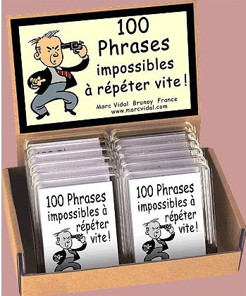 100 phrases impossibles à répéter vite