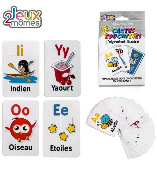 Cartes éducatives - L'alphabet