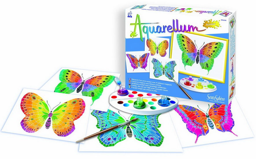 Aquarellum junior Papillons