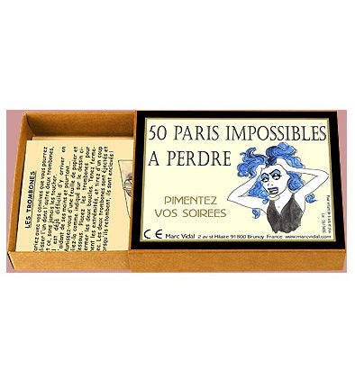 50 paris impossibles à perdre