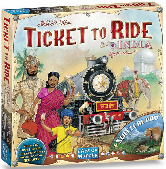 Ticket to ride map #2 India VF