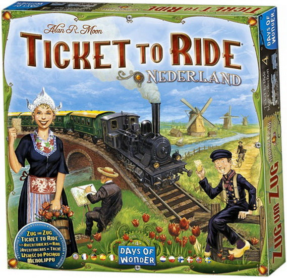 Ticket to ride map #4 Nederland VF