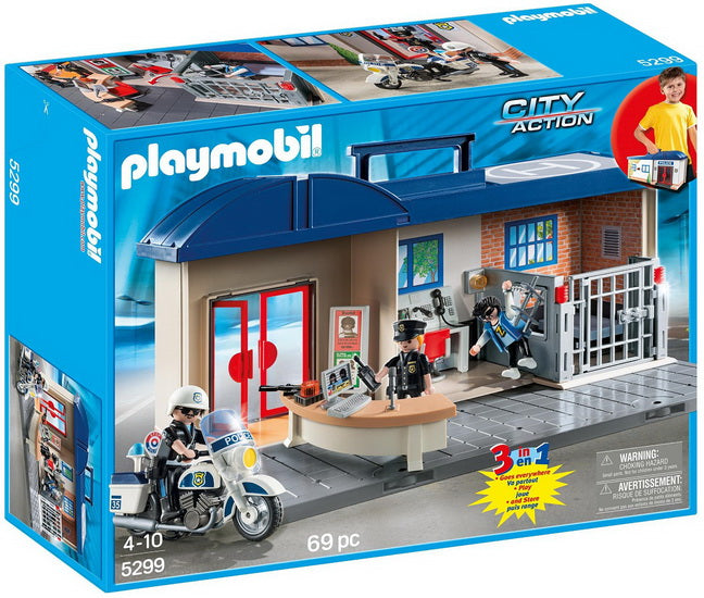 Station de police transportable