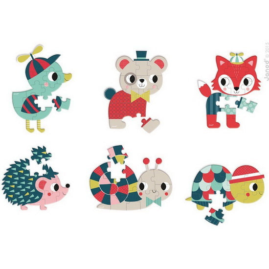 Mini puzzle Baby forest
