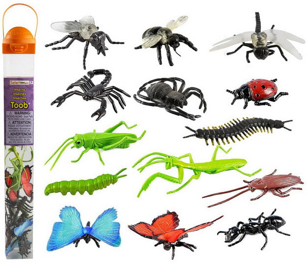 Tube figurines Insectes