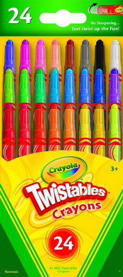 Mini crayons Twistables ( 24 )