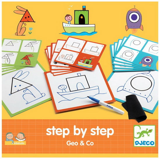 Step by step Géo and Co