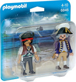 Pirate et soldat royal