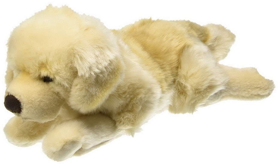 Peluche chien Golden Retriever
