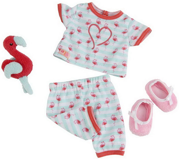 Pyjamas Flamants rose