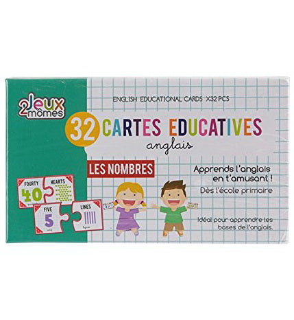 Cartes éducatives Anglais 3AS