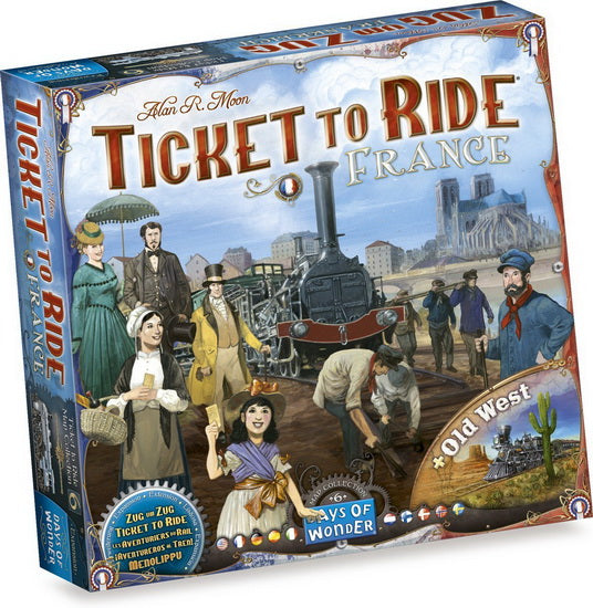 Les Aventuriers du rail: France & Old West