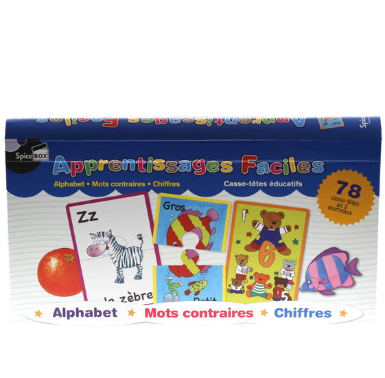 Apprentissage faciles Alphabet