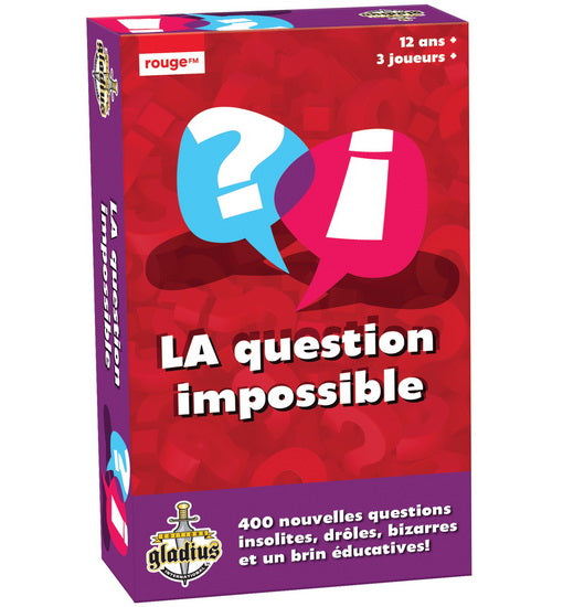La Question impossible Vol. 2