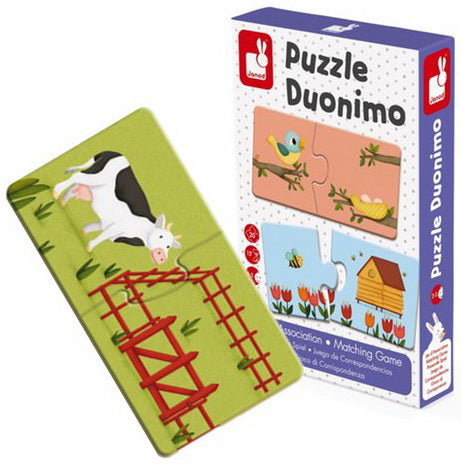 Jeu d'association  Puzzle Duonimo