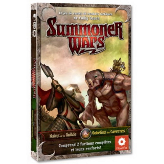 Summoner Wars 2 Nains vs Gobelins