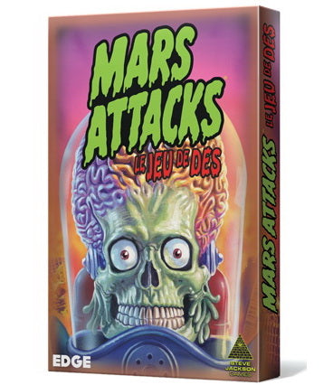 Mars Attacks le jeu de dés
