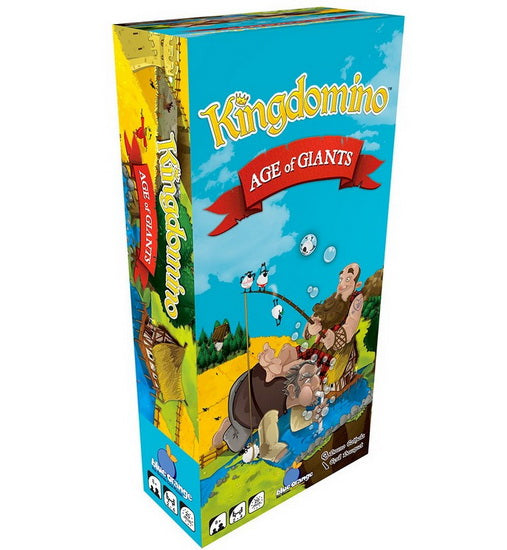 Âge des géants Extension Kingdomino & Queendomino