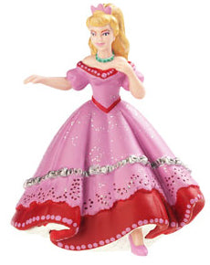 Figurine Princesse au bal rose