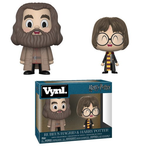 Figurine Harry Potter et Hagrid