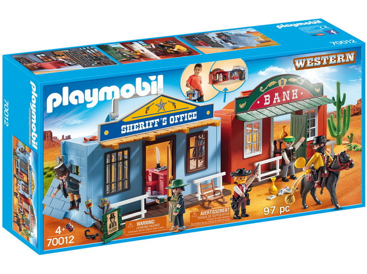 Coffret du Far West transportable