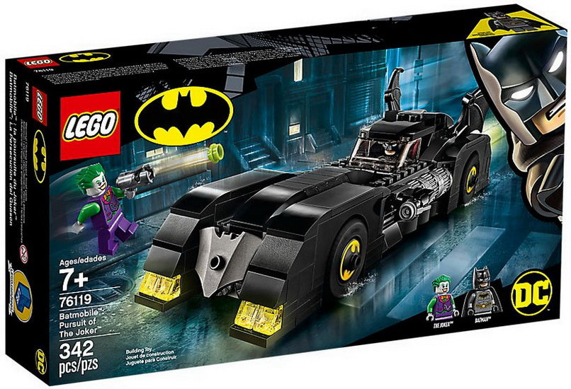Batmobile la poursuite du Joker