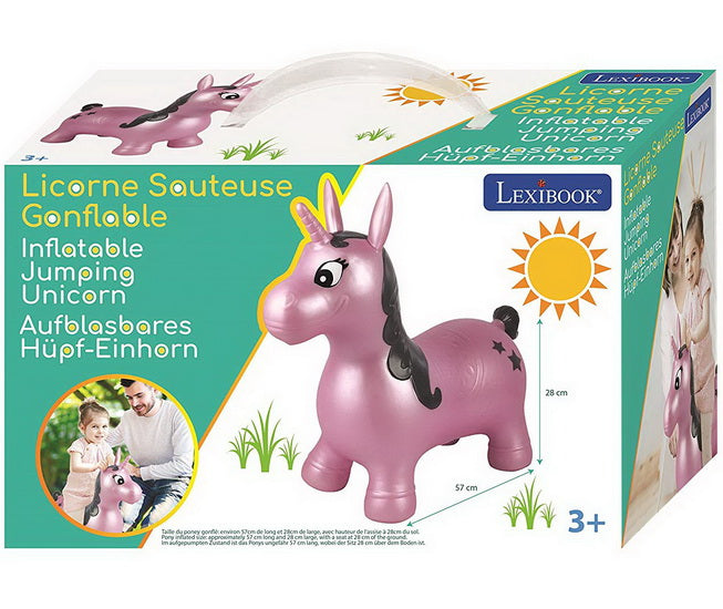 Licorne sauteuse gonflable