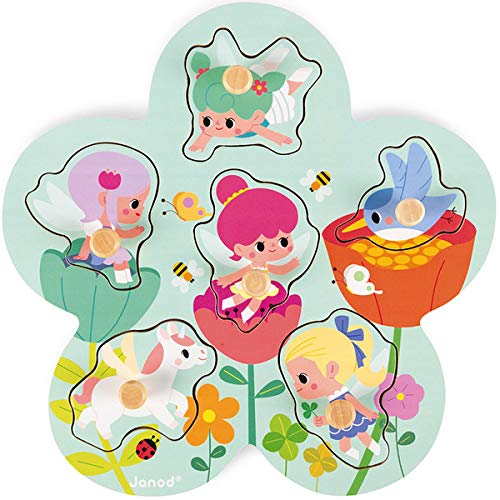 Puzzle en bois Happy Fairies 6 mcx