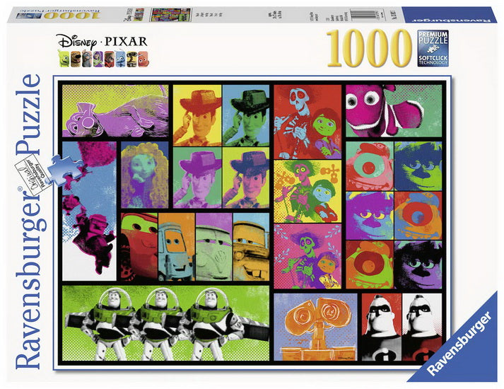 Disney Pixar Le Pop Art 1000 mcx