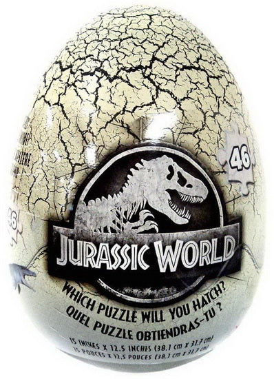 Œuf surprise Casse-tête Jurassic World 4AS