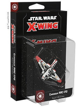 Star Wars X-Wing 2.0 ARC 170 starfighter