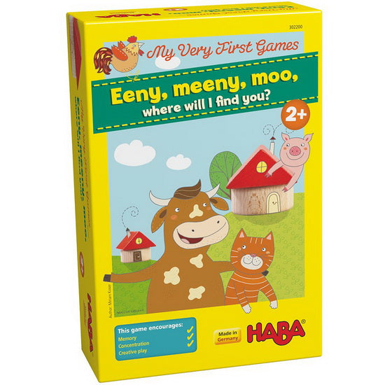 My very first games eeny, meeny, moo, where will I find you VF